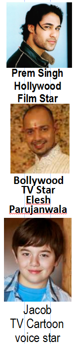 TV film STAR and Bollywood TV Star have taken acting classes with acting teacher Christopher Healy.